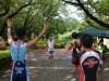 町田のトライアスロン大会19年目 47人が出場